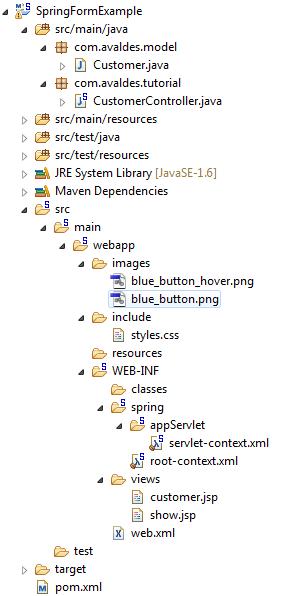 Spring MVC Form Handling Example