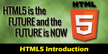 HTML5 introduction