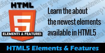 HTML5 elem features