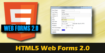 HTML5 web forms2