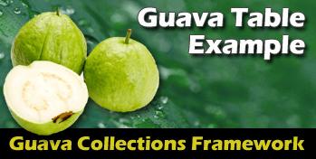 GuavaTable