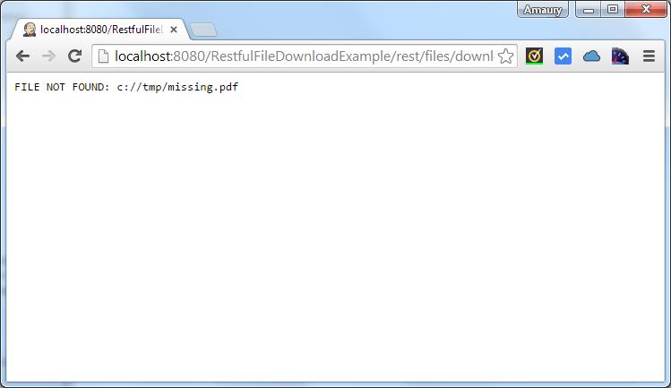 file download error page