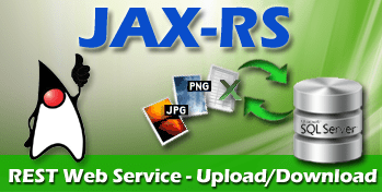java jaxrs db filestore