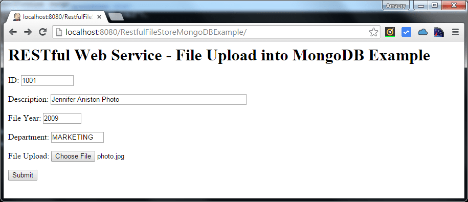 mongodb screen1