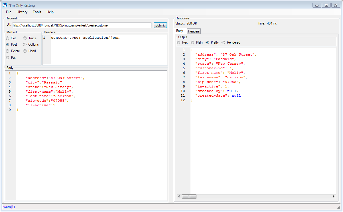 Spring MVC with JNDI Datasource for DB2 on AS/400 using Tomcat