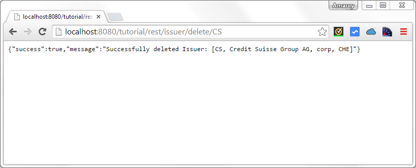 issuer delete by ticker cs