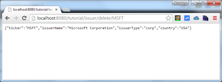 issuer delete by ticker msft