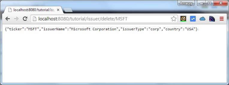 issuer delete by ticker msft