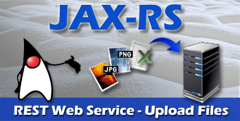 java jaxrs upload