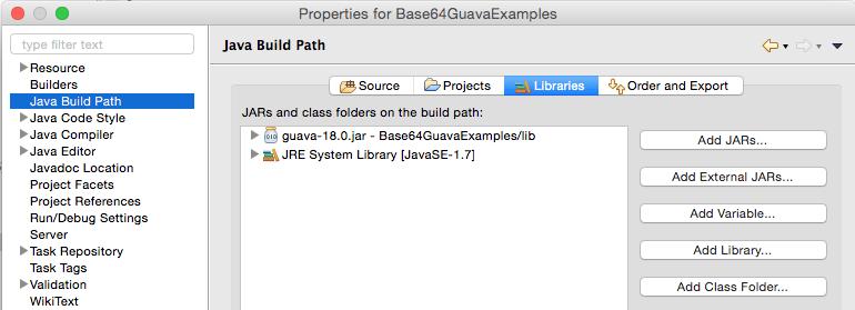 base64_guava_lib_setup