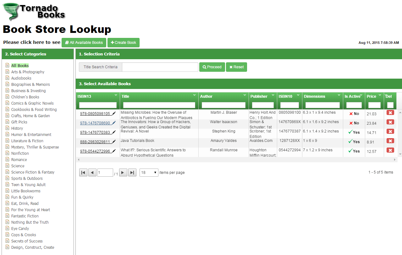 Spring Mvc Restful Web Service Example With Spring Data For Mongodb Angularjs Bootstrap And Grid Ui