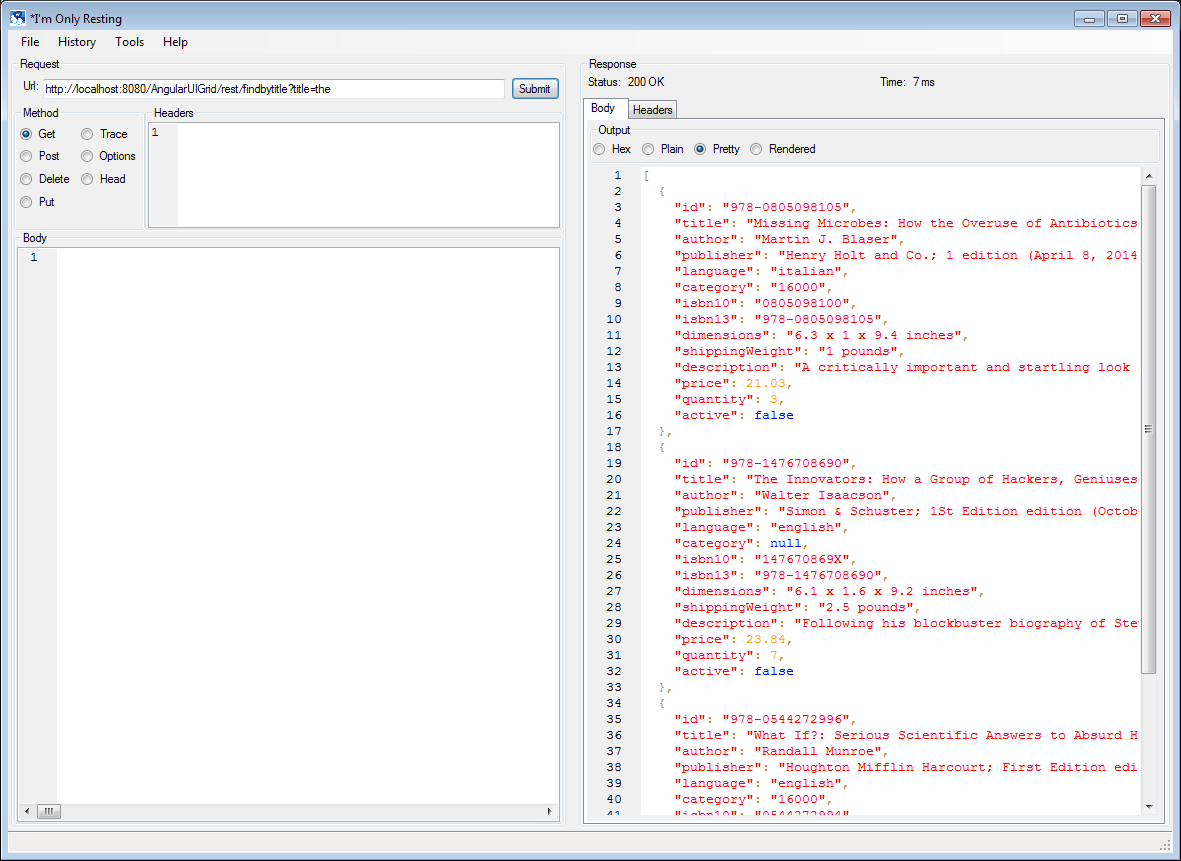 Building AngularJS UI-Grid / Bootstrap Application using