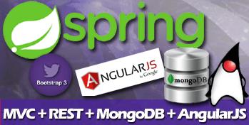 spring mvc angular bootstrap