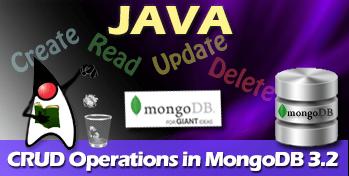 MongoDB Java CRUD Operations Example Tutorial