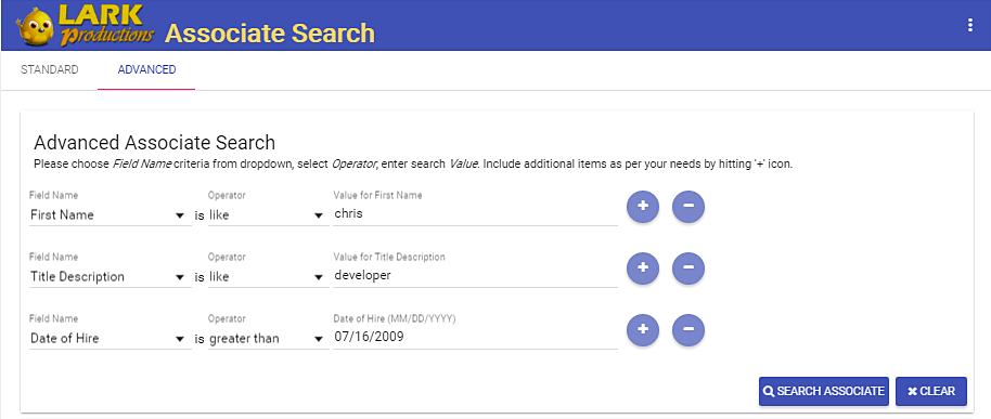 Designing Basic and Advanced Dynamic Search Forms using