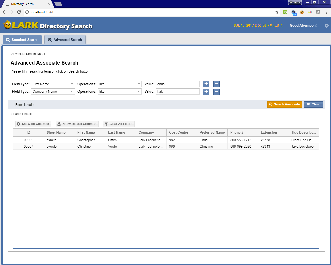 extjsDirectoryAdvSearch